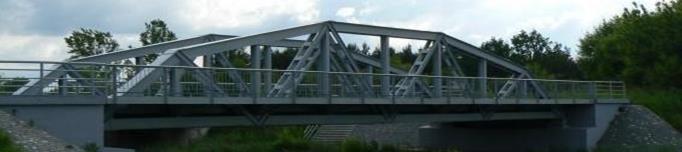 Most na rzece Słudwi pod Łowiczem – stan obecny – galeria