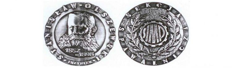 Medal im. inż. Stanisława Olszewskiego dla kol. dr inż. Piotra Białuckiego