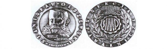 Medal im. inż. Stanisława Olszewskiego dla kol. dr inż. Krzysztofa Kudły